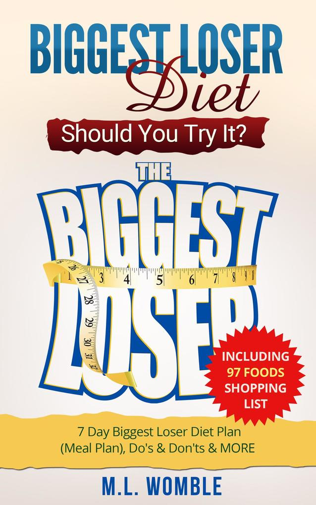 The Biggest Loser Diet: Should You Try It? Incl...
