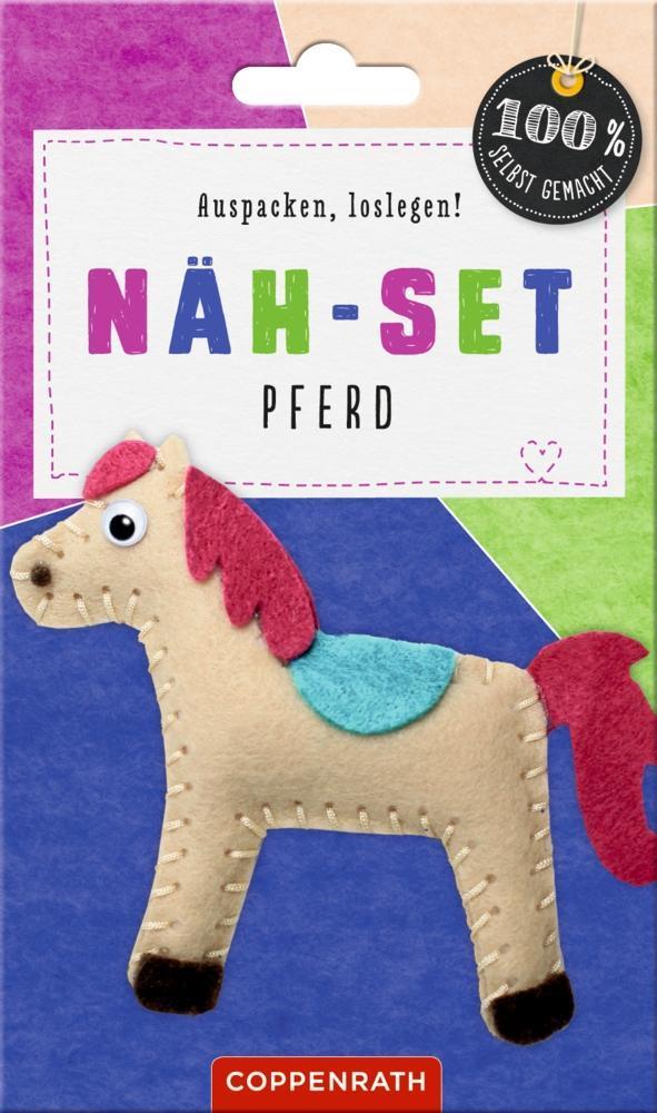 Näh-Set: Filzanhänger Pferd