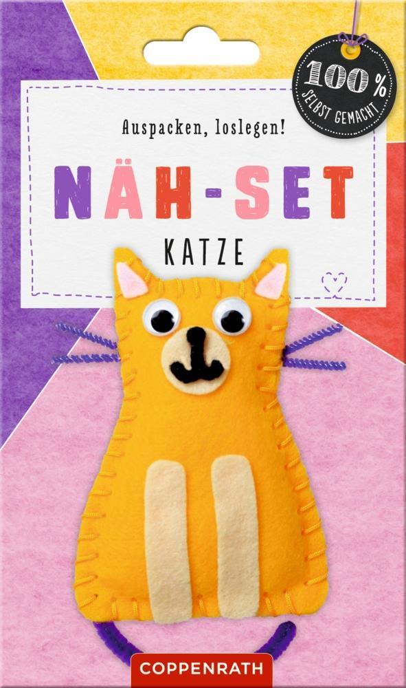 Näh-Set: Filzanhänger Katze