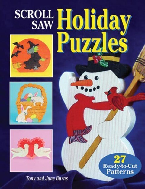Scroll Saw Holiday Puzzles: 27 Ready-To-Cut Patterns [With Patterns] als Taschenbuch