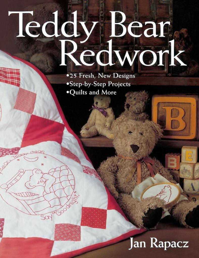 Teddy Bear Redwork - Print on Demand Edition als Taschenbuch
