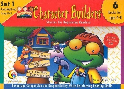 Character Builders, Set 1: Doing Right and Trying Hard als Taschenbuch