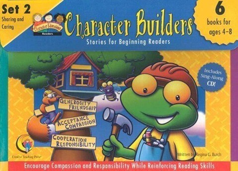 Character Builders, Set 2: Sharing and Caring als Taschenbuch