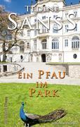 Ein Pfau im Park