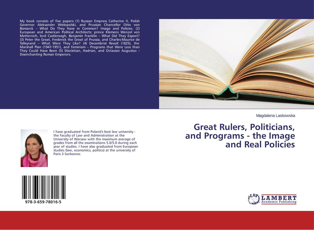 Great Rulers, Politicians, and Programs - the I...