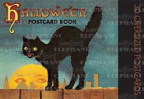 Halloween Postcard Book als Buch