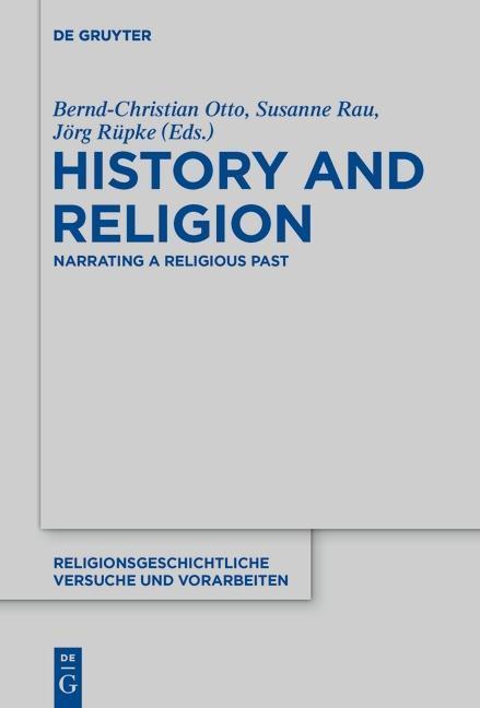 History and Religion als eBook Download von