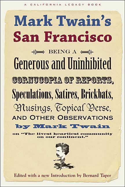 Mark Twain's San Francisco als Taschenbuch