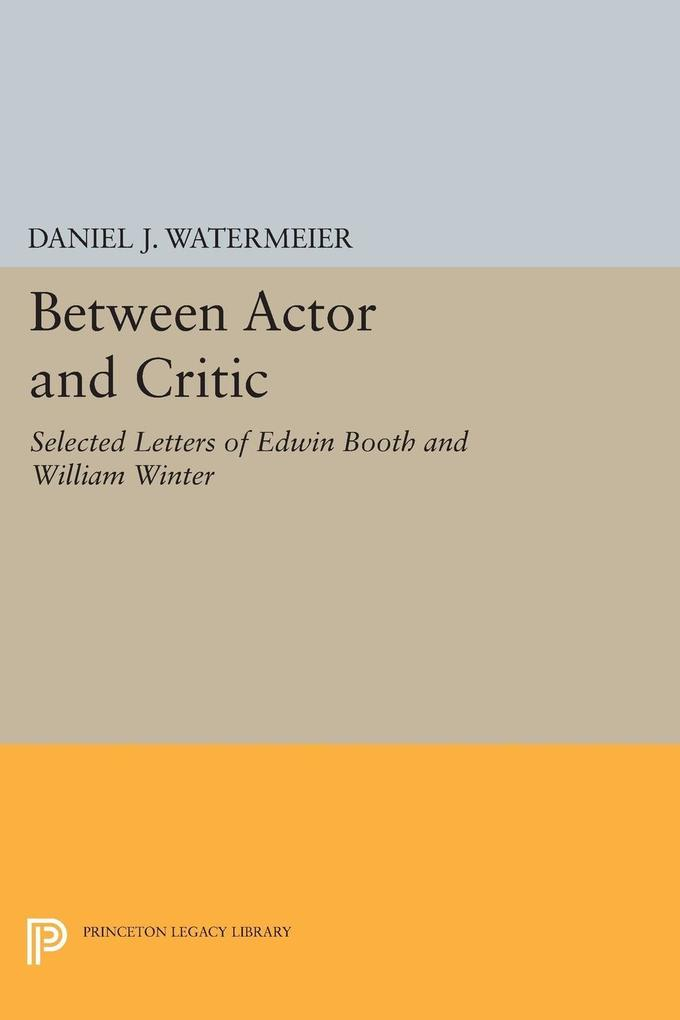Between Actor and Critic als eBook Download von