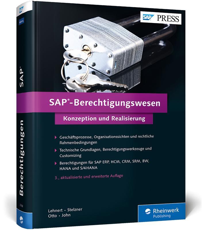 SAP-Berechtigungswesen als Buch von Volker Lehn...