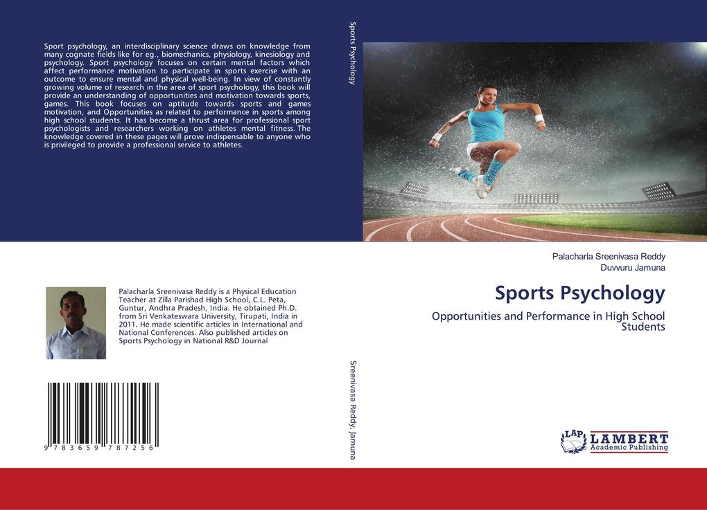 Sports Psychology als Buch von Palacharla Sreen...