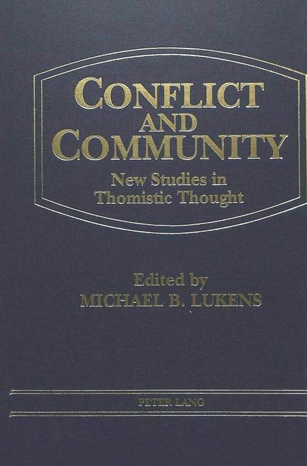 Conflict and Community als Buch von Michael Lukens