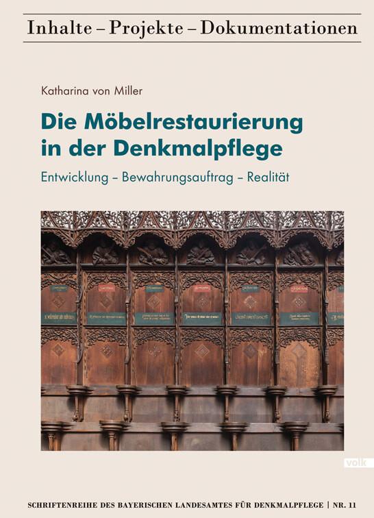 Die Möbelrestaurierung in der Denkmalpflege als...