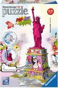 Pop Art Edition - Statue of Liberty 3D Puzzle-Bauwerke
