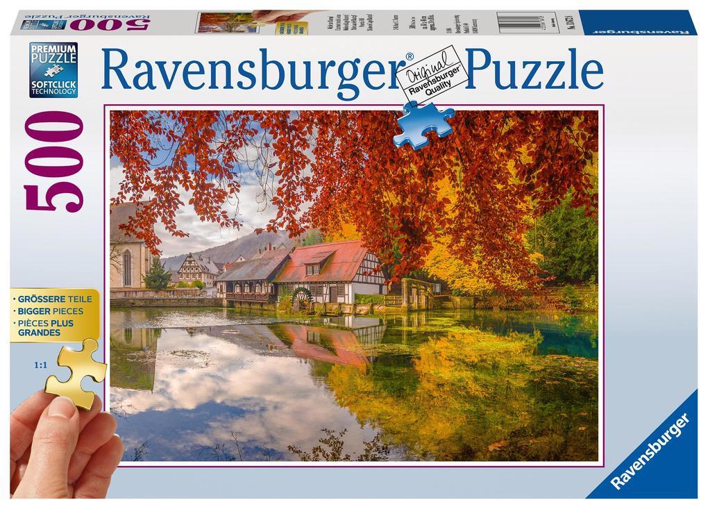 Mühle am Blautopf Puzzle 500 Teile. Erwachsenenpuzzle als sonstige Artikel