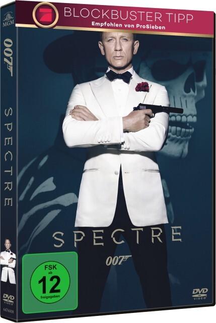 James Bond - Spectre als DVD
