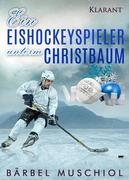 Ein Eishockeyspieler unterm Christbaum