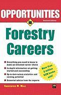 Opportunties in Forestry Careers als Taschenbuch