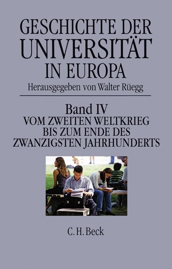 Geschichte der Universität in Europa 1946 - 1990 als Buch