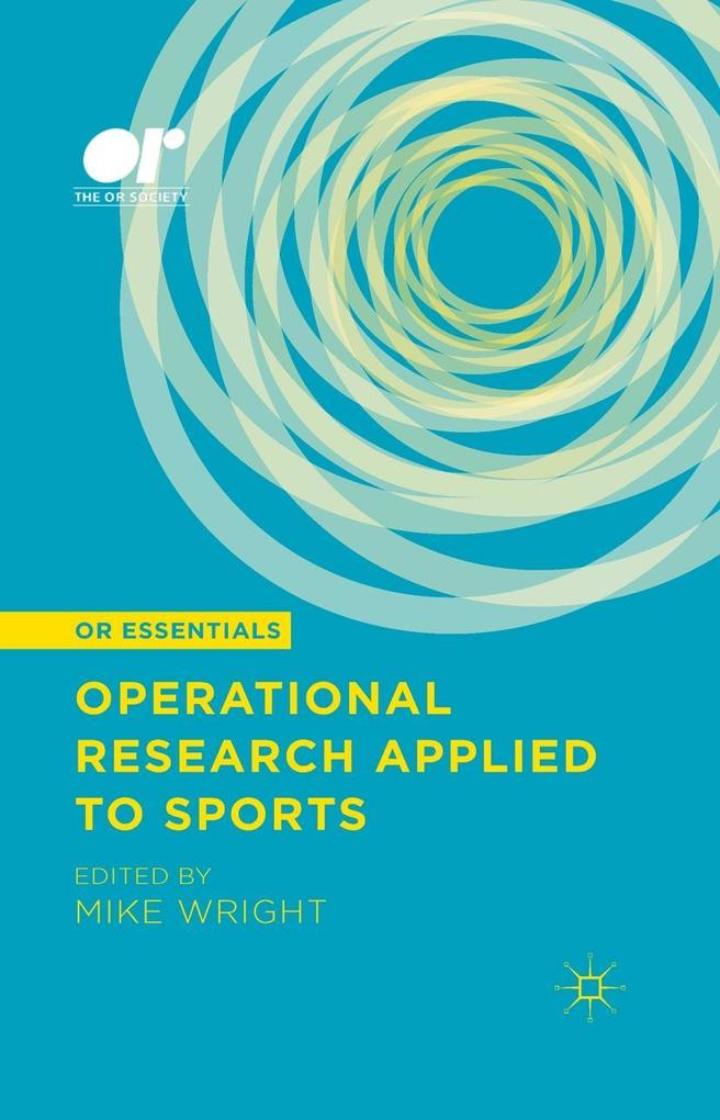 Operational Research Applied to Sports als eBoo...