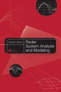 Radar System Analysis and Modeling als eBook Do...