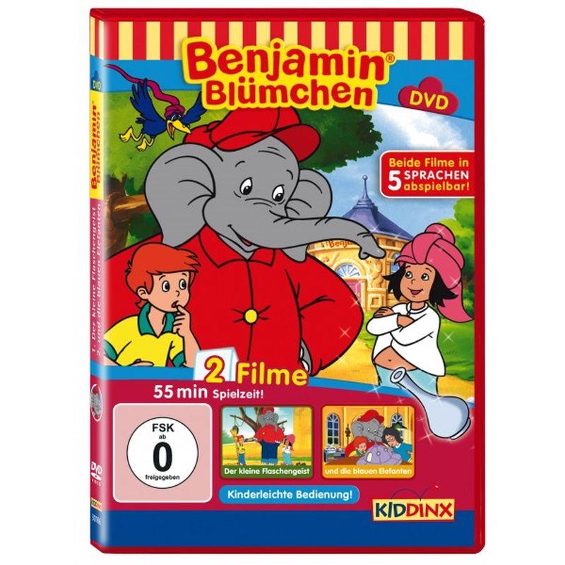 Benjamin Blümchen. und die blauen Elefanten / ... der kleine Flaschengeist. DVD als DVD