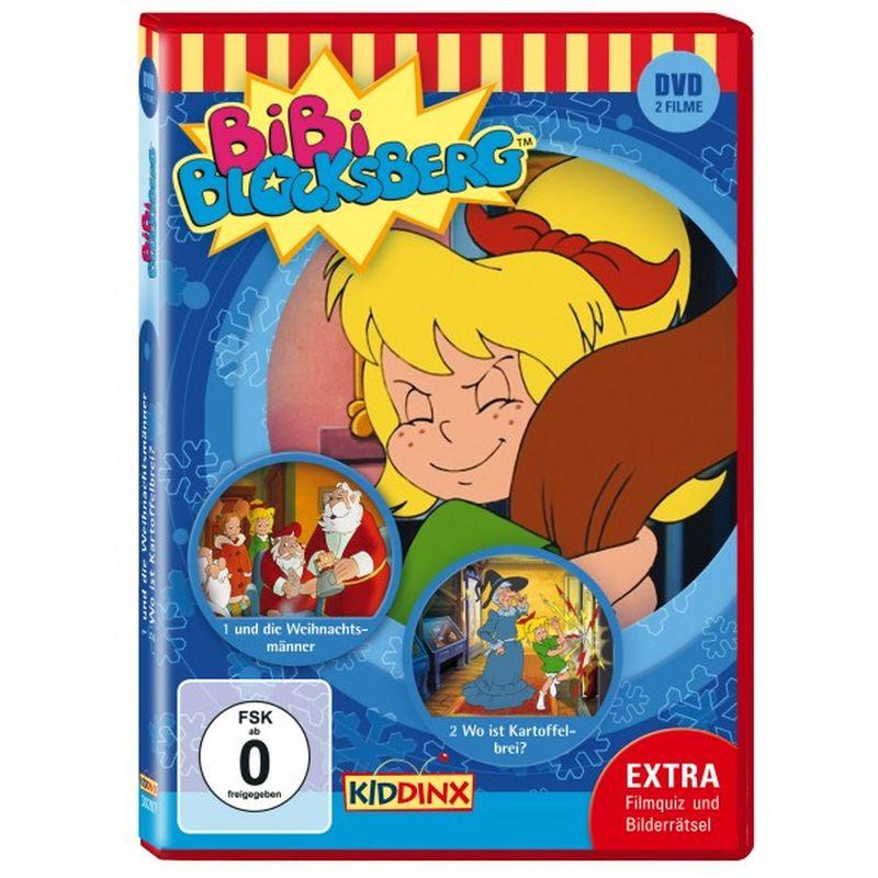 KIDDINX - DVD Bibi Blocksberg ... und die Weihnachtsmänner / Wo ist Kartoffelbrei? als DVD