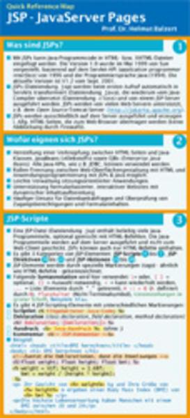 JSP JavaServer Pages als Buch