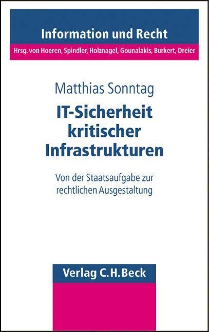 IT-Sicherheit kritischer Infrastrukturen als Buch