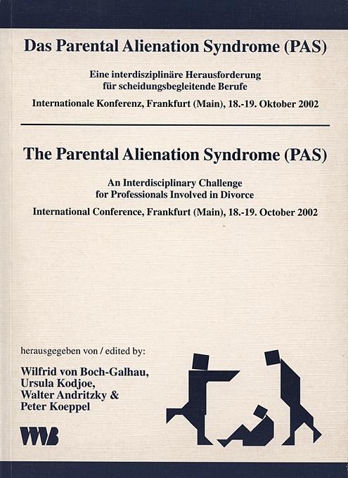 Das Parental Alienation Syndrome (PAS) als Buch