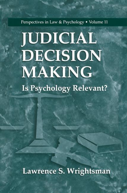 Judicial Decision Making als eBook Download von...