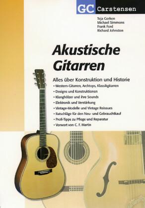 Akustische Gitarren als Buch