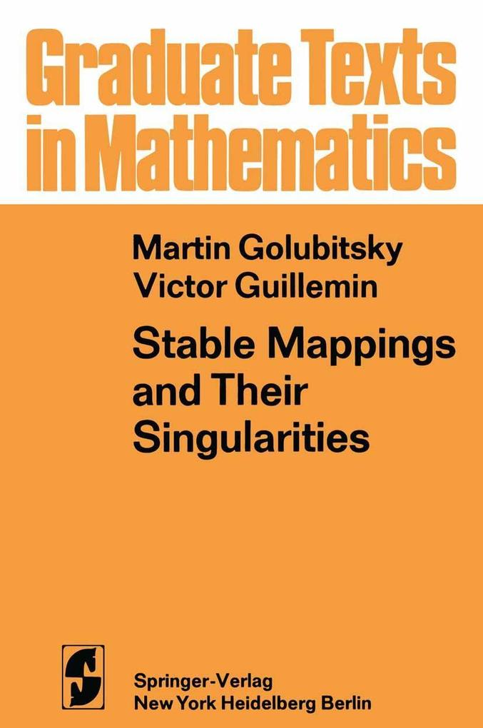 Stable Mappings and Their Singularities als eBo...