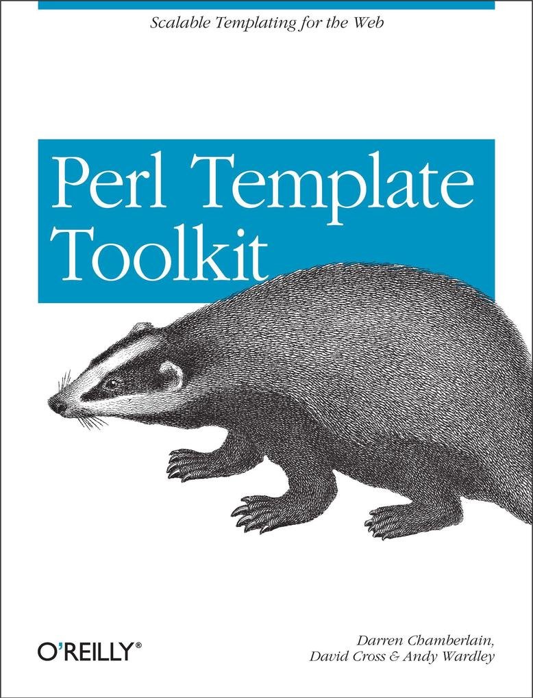 Perl Template Toolkit als Buch