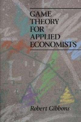 Game Theory for Applied Economists als Taschenbuch