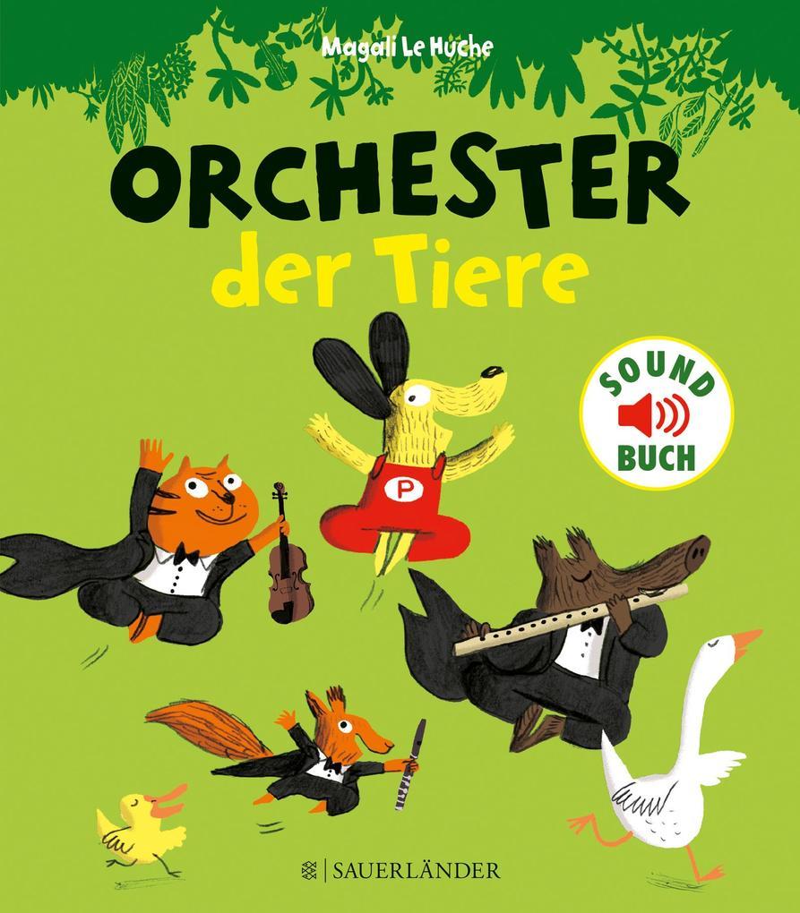 Orchester der Tiere als Buch
