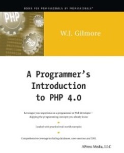 Programmer´s Introduction to PHP 4.0 als eBook ...