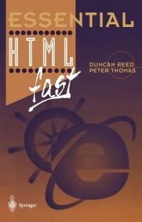 Essential HTML fast als eBook Download von Dunc...