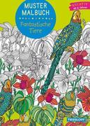 Muster Malbuch Fantastische Tiere