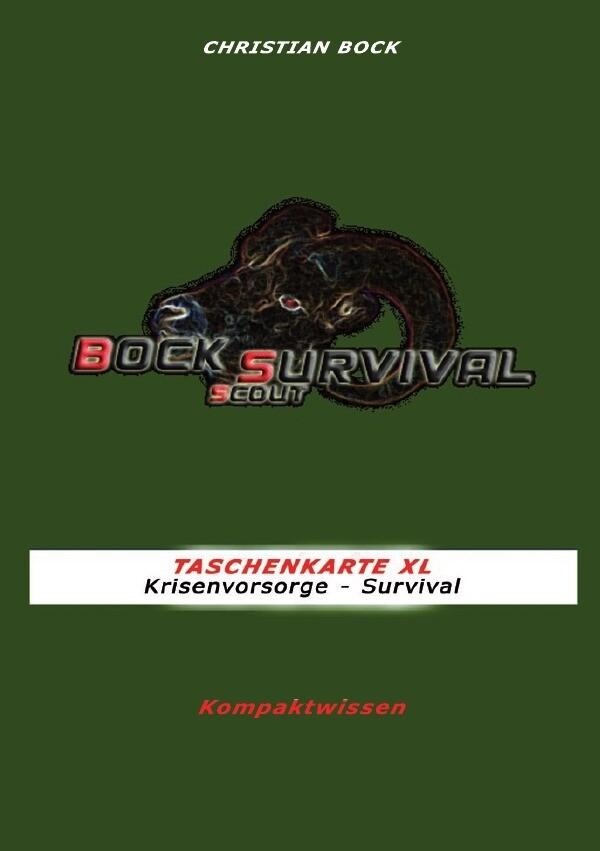TASCHENKARTE XL Krisenvorsorge - Survival als B...