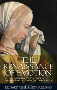 Renaissance of emotion als eBook Download von