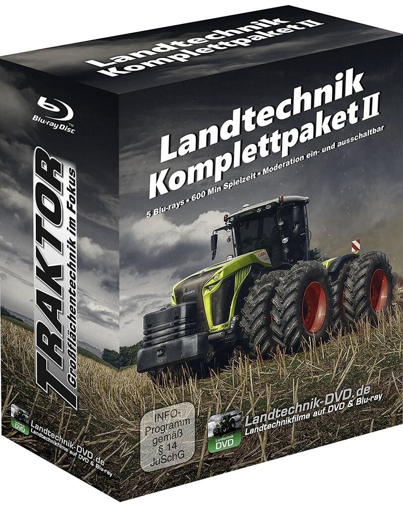 Landtechnik Komplettpaket 2: Traktor - Großfläc...