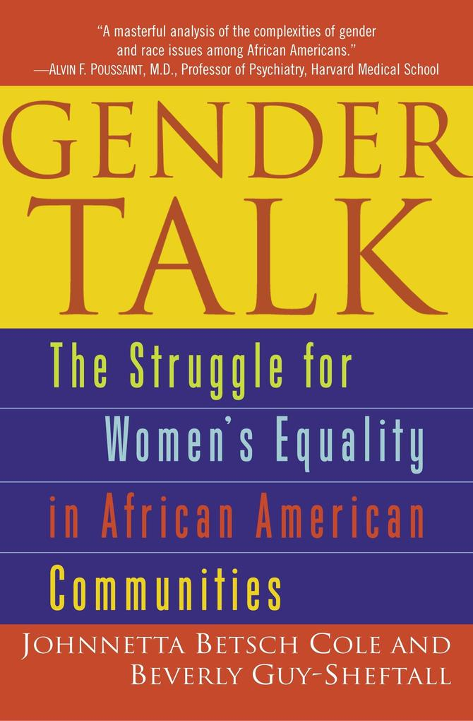 Gender Talk: The Struggle for Women's Equality in African American Communities als Taschenbuch