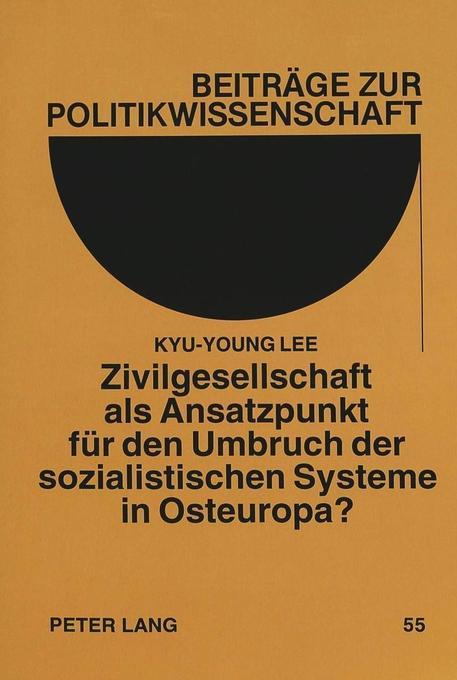 Zivilgesellschaft als Ansatzpunkt für den Umbru...
