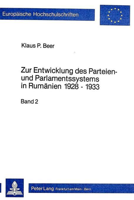 Zur Entwicklung des Parteien- und Parlamentssys...