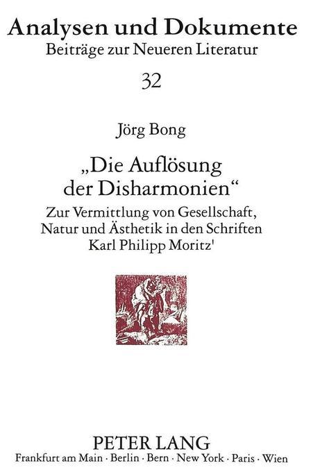 «Die Auflösung der Disharmonien» als Buch von J...