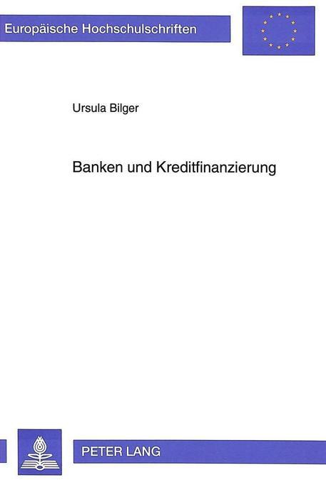 Banken und Kreditfinanzierung als Buch (kartoniert)