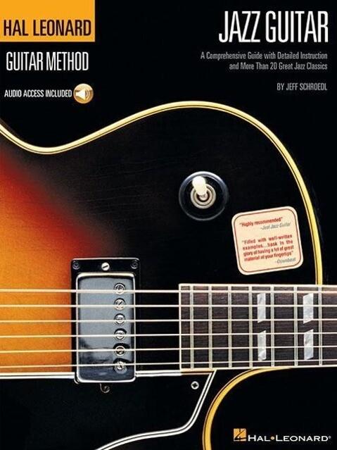 Hal Leonard Guitar Method - Jazz Guitar (Book/Online Audio) als Taschenbuch