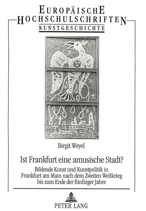 Ist Frankfurt eine amusische Stadt? als Buch vo...
