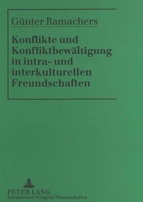 Konflikte und Konfliktbewältigung in intra- und...